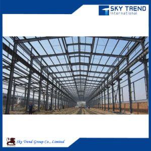 Galvanized Steel Profile Prefabricated Steel Structure Building pictures & photos