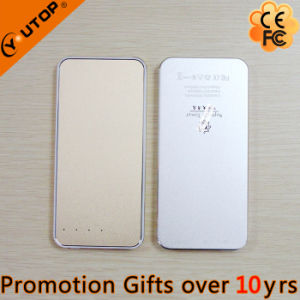 Hot New Super Slim 5000mAh Power Bank with LED Lighting (YT-PB34-02)