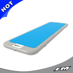 FM New Design Fitness Inflatable Floating Yoga Mat on Water pictures & photos