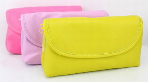 Fashion PU Light Color Cosmetic Bags
