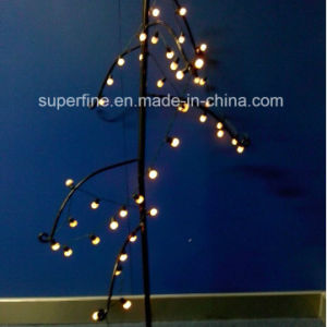 Garden Using Waterproof LED Pinecone Fairy String Light with Ce RoHS IP44 pictures & photos