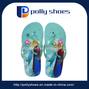 Hot Green Summer Beach Leisure Girl EVA Flip Flops Sandals pictures & photos