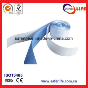 Soft and Quick Use Blue Breathable Foam Bandage Wrap Elastic Cohesive Bandage Latex Plaster pictures & photos