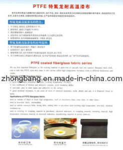 PTFE Coated Fiberglass Fabric pictures & photos