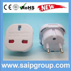 UK to European AC Power Adapter Plug (SP-9625)