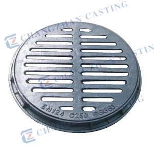 Casting Grating Grate with Hinge