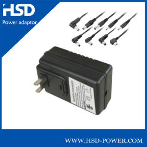 Wall Type 30W 30V DC Adapter with UL Plug
