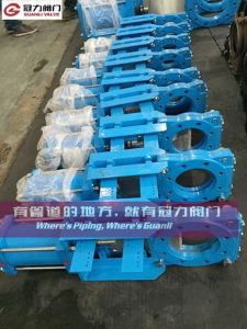 Heavy Duty Ductile Iron Slurry Knife Gate Valve pictures & photos