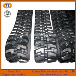 Bobcat Yanmar Hitachi Mini Excavator Excavator Spare Parts Rubber Track pictures & photos