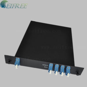 8 Channel Double Fiber Unidirectional CWDM 8-Inch Rack pictures & photos