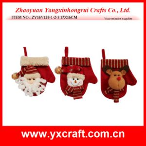 Christmas Decoration (ZY16Y128-1-2-3 17X16CM) Christmas Glove Stuff Home Decor Christmas pictures & photos