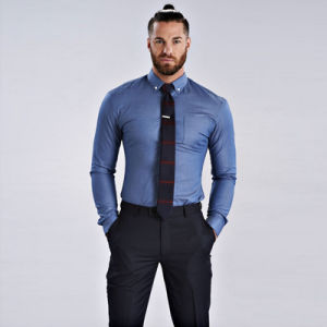 china men′s dress shirt men plus size long sleeve male business