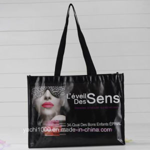 Custom Reusable Canvas Shopping Bag with Emoji pictures & photos