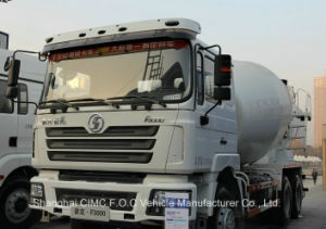 Shacman F3000 Euro IV with Cummins Engine Concrete Mixer Truck