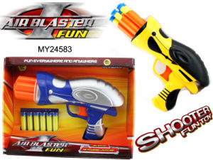 EVA Bullet Toy Gun, EVA Soft Bullet Gun, Shoot Game, Outdoor Toys (MY24583)