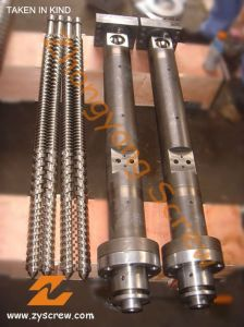 R-PVC Pipe Twin Parallel Screw and Barrel pictures & photos