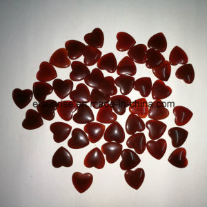 Semi Precious Stone Natural Crystal Carnelian Heart pictures & photos