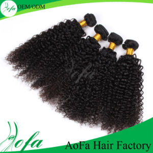 Hot Selling Kinky Curly Virgin Brazilian Remy Hair Product pictures & photos