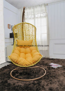Swing Chair Swinging Hanging Chair Wicker Chair with Arm Rest pictures & photos