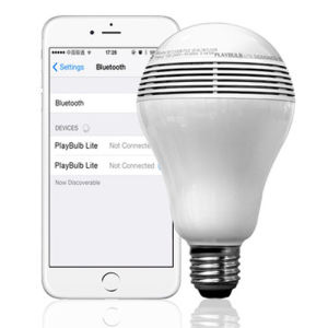 Mini Bulb Speaker Bluetooth 3.0 APP Operation pictures & photos