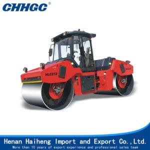 China 10t 12t Heavy Double Drum Tandem Vibratory Roller Manufacturer