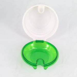 Hot Sale BPA Free Plastic Snack Cup with Straw pictures & photos