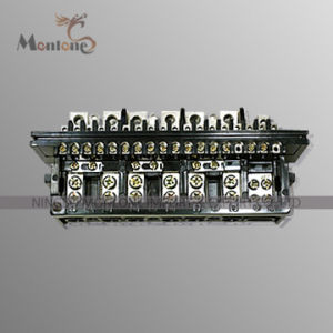 PBT Terminal Block for Three Phase Kwh Meter (TB009) pictures & photos