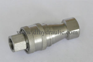 Kzf Stainless Steel Poppet Valve Hydraulic Quick Coupler pictures & photos