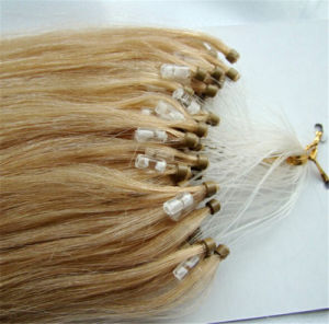 100% Remy Hair Pre-Bonded Hair Extension Micro Loop Ring Hair pictures & photos