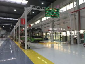Semi Automatic Coach Production Line/Bus Assembly Line pictures & photos