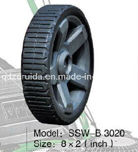 8X2 Inch Flat Free Rubber Wheel for Ridgid Generators (SSW-B3020) pictures & photos