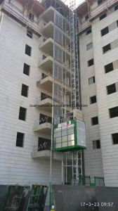 Single /Twin Cages Super Height Material and Passenger Construction Elevator