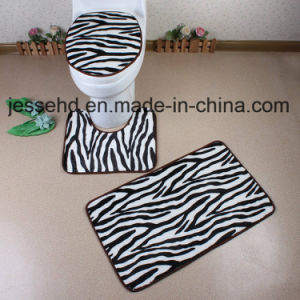 Quantity PV Fleece Memory Foam Bath Rug Sets pictures & photos