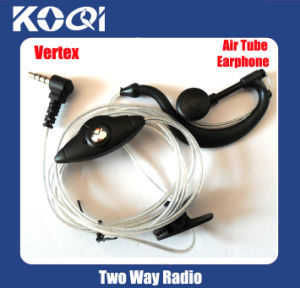 Clear Tube Ptt Earphone for Walkie Talkie Vx-168 Vx-228 Vx-230 pictures & photos