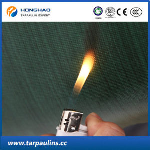Truck Cover Durable Flameproof Glass Fiber Coated Tarpaulin pictures & photos