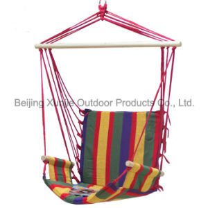 Color Stripe Cotton Hanging Chair