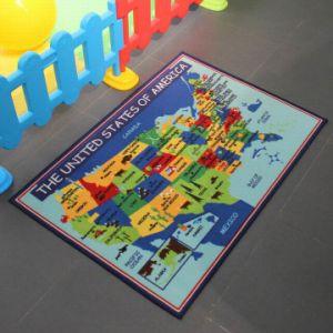 China Nylon World Map Rug For Child China Rug Carpets