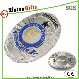 High Quality Eagle Metal Police Pin Badge pictures & photos