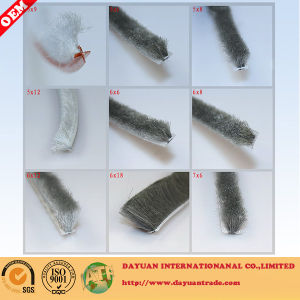 Silicone or Non-Silicone Wool Pile Seal Strip