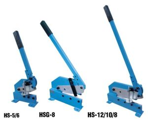 Manual Shearing Machine (Hand Shearing MachineHS5 HS6 HS8 HS10 HS12) pictures & photos