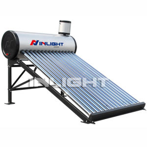 Non-Pressurized All Glass Tube Color Steel Solar Water Heater pictures & photos