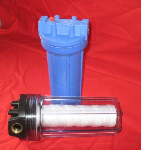 10 Inch Clear Transparent Water Filter Housing
