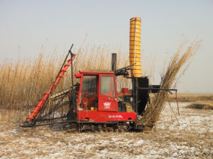 Harvester for Hemp of Tractor Tools