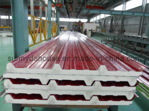 PU Roof Sandwich Panel / PU Wall Sandwich Panel (SD-235) pictures & photos