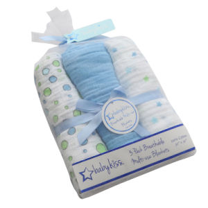 Baby Wholesale Reusable Muslin Baby Blanket pictures & photos