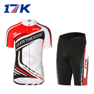 17k Short Men Wholesale Cycling Clothes with Sublimation Printing