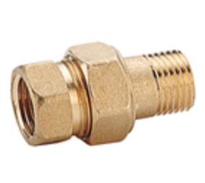 High Quality Brass Round Head Code Pipe Fittings/Nipple