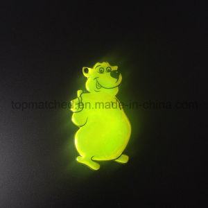 PVC Winnie Bear Reflective Soft Reflector for Promotion pictures & photos
