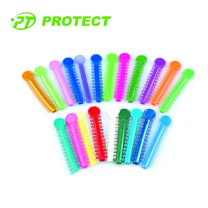 Dental Orthodontic Ligature Tie for Brace with Various Colors