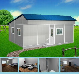Low Cost EPS Sandwich Panel Prefab Cottage/House pictures & photos